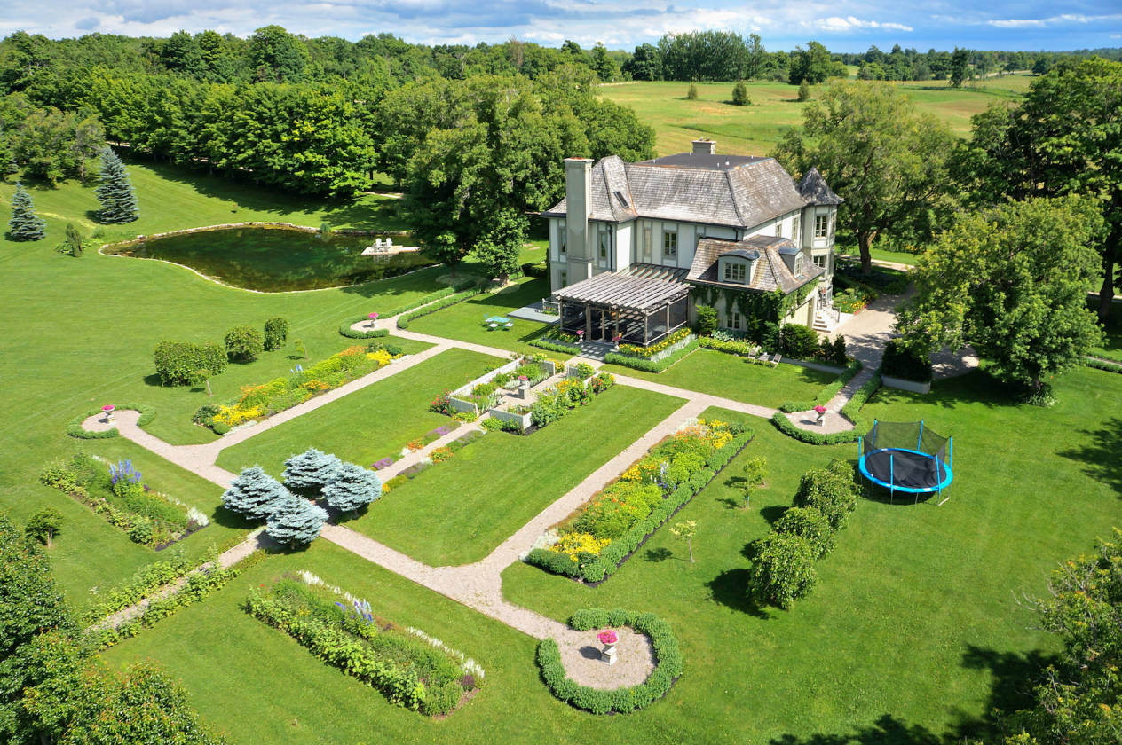 exquisite, private 100 acre estate