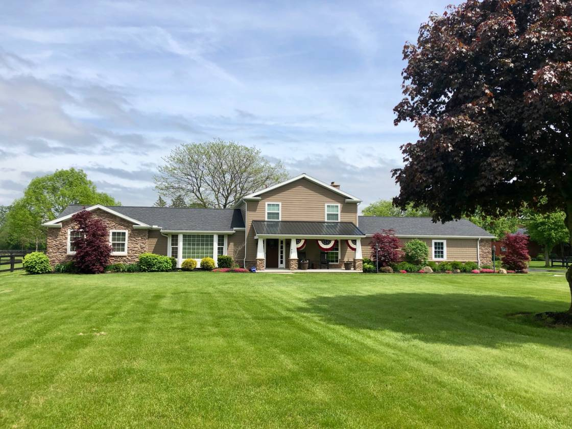 30 ACRE HORSE FARM IN BEDFORD TOWNSHIP, TEMPERANCE ...