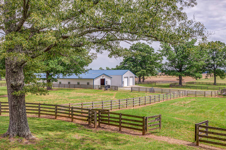 45 Acre Horse Farm In Middle Tennessee With Custom Home