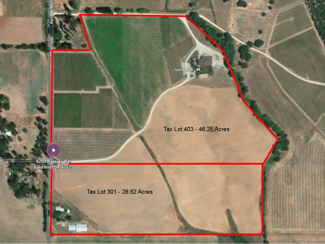 Previous 7487 acre Ranch property and award