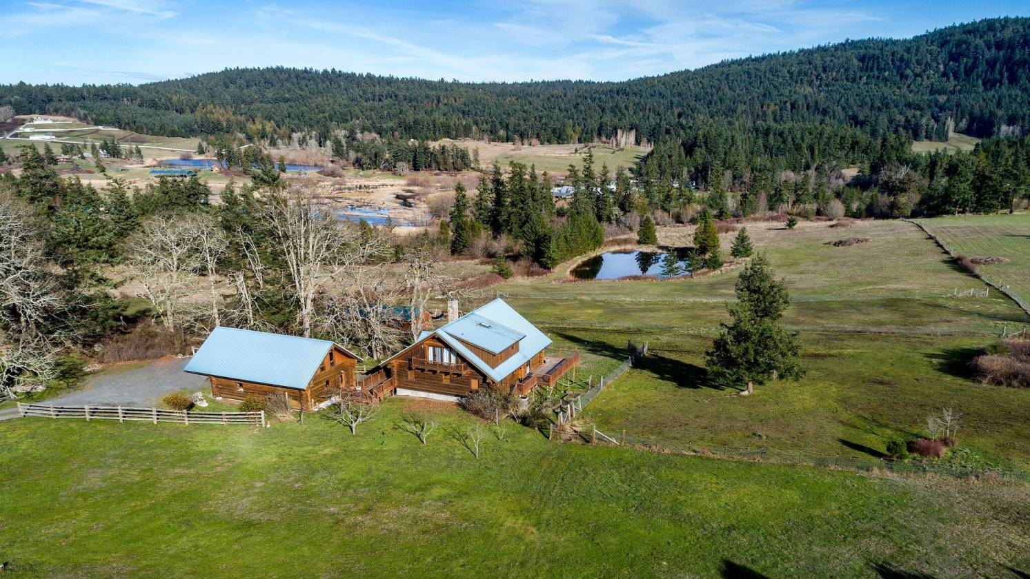 Previous Beautiful Log Home on 9 acres
