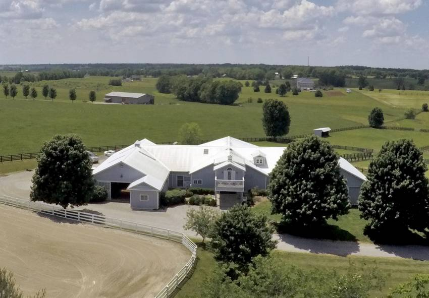 stunning lexington ky farm with indoor lexington fayette county rh horseproperties net