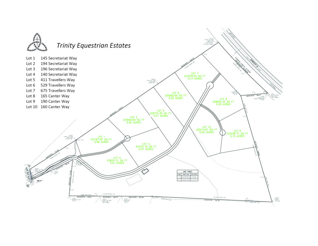 Trinity equestrian estates lot 1 145 secretariat way lenoir previous pooptronica Images