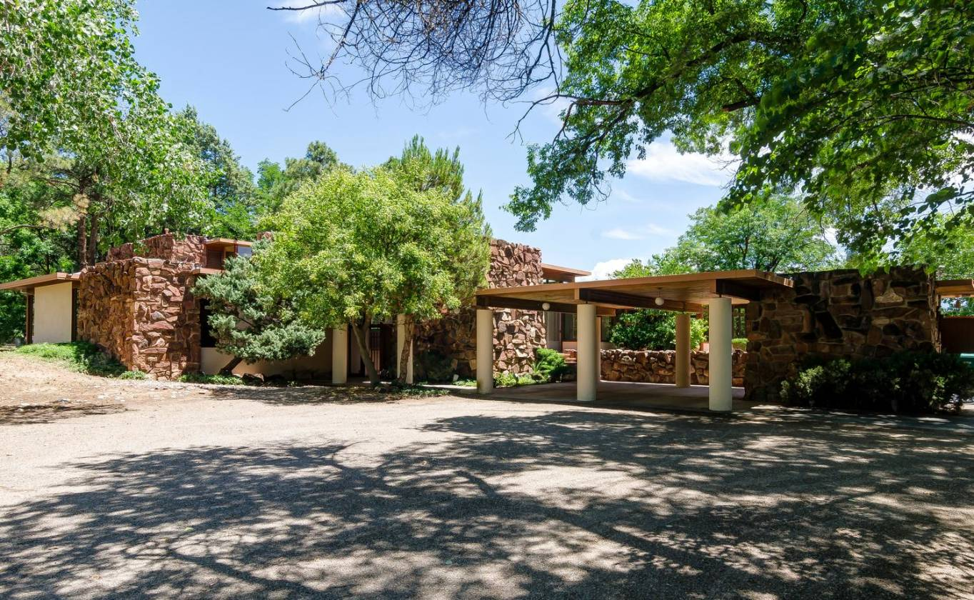 Luxury Equestrian Estate Iconic Mid Century Modern Home