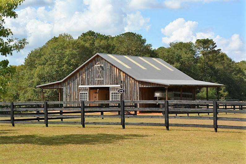 Beautiful Horse Farm With Custom Built Brick Home On
